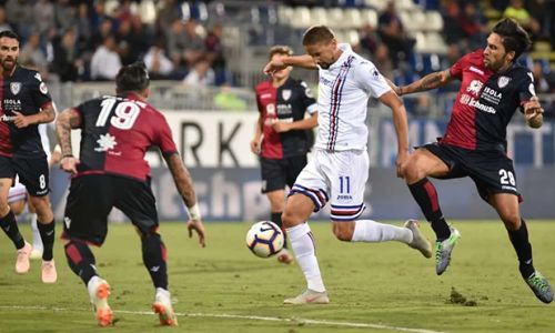Soi kèo Cagliari vs Sampdoria 17h30 ngày 17/10 dự đoán giải VĐQG Italia